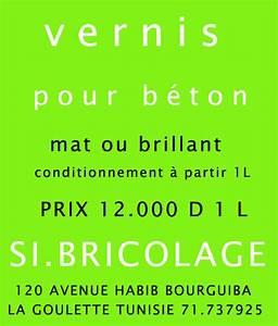 Vernis Béton Ciré : vernis pour beton cire goulette tunis tunisie ~ Premium-room.com Idées de Décoration