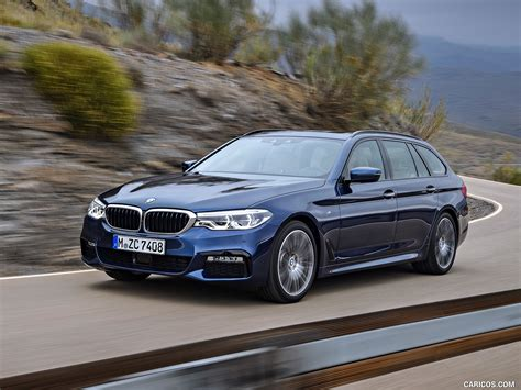 5 Series Touring Image by 2018 Bmw 5 Series 530d Xdrive Touring Front Three