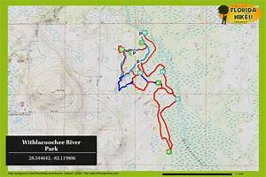 Near Point Chart Withlacoochee River Park Florida Hikes