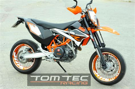 wheel sticker ktm smc r 690 supermoto smcr stripes decals tomtec racing ebay