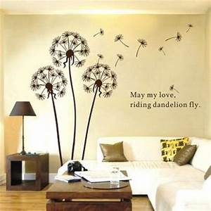 dandelion wall sticker With what kind of paint to use on kitchen cabinets for dandelion wall art stickers