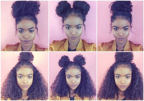 Best 25+ Curly Bun Ideas On Pinterest