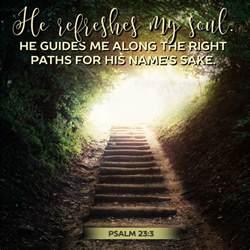 Psalm 23 3