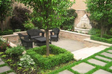 landscaped courtyard ideas courtyard landscape design botanical concepts chicago