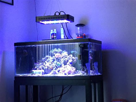 fish tank light 165w led aquarium light spectrum led