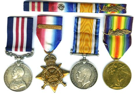 Awards For Gallantry And Distinguished Service British