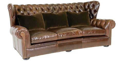 Designer Chesterfield Sofa Chesterfield Wingback Leather Button Tufted Sofa Clubfurniture