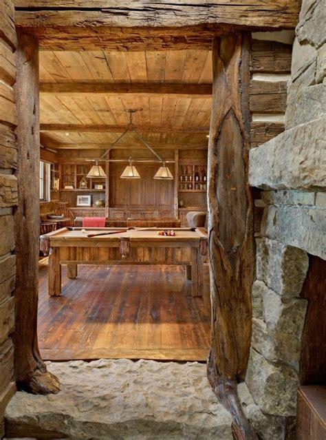 cuisine amenage maison rustique entièrement en bois au montana états unis vivons maison