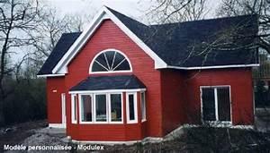Maison Préfabriquée En Bois : maison kit bois pr fabriqu maison modulaire en panneaux ~ Premium-room.com Idées de Décoration