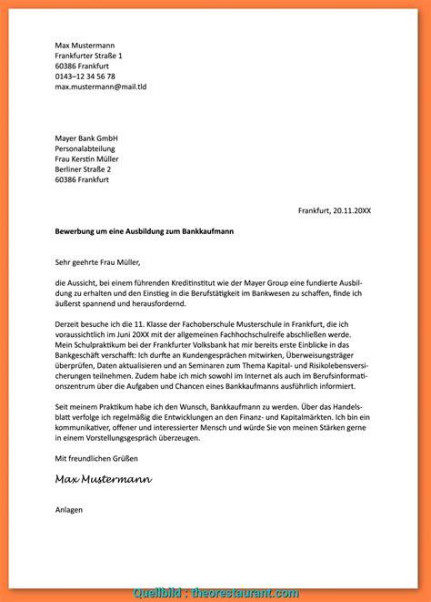 Bewerbungsvorlage Ausbildung by Neu Vorlage Anschreiben Bewerbung Ausbildung Png
