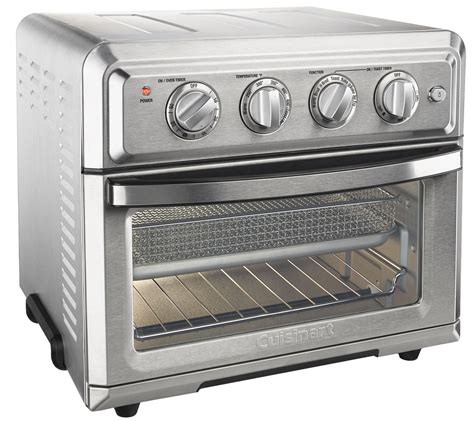 fryer oven toaster cuisinart air convection qvc
