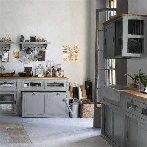 cuisine cagnarde grise cuisine grise un air de cagne chic cuisine