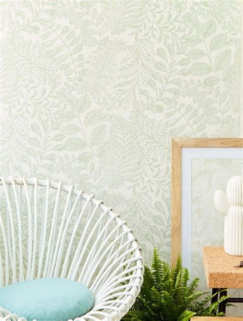 The Look Lioba by Lioba In 2019 Fondos Green Wallpaper Powder Room