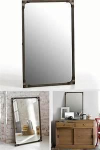 12 magnifiques miroirs industriels a decouvrir for Miroir metal