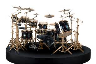 DW Neil Peart Drum Kit