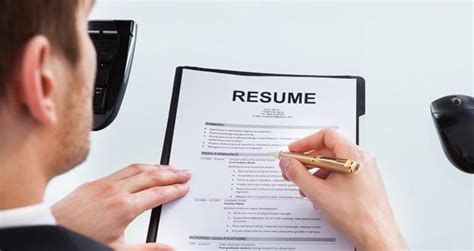 20 resume tips that will get you shortlisted