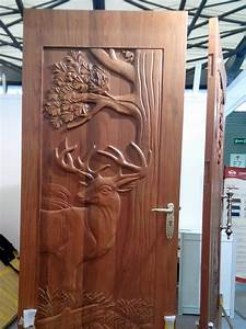 Beautiful, Handcarved, Animal, Carved, Doors, Wood, Exterior