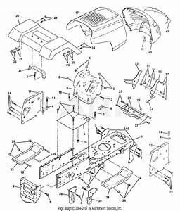 Wiring Diagram  30 Poulan Pro 42 Inch Deck Diagram