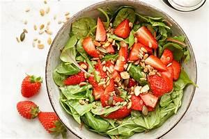 Spinat Als Salat : spinat salat mit erdbeeren und zitronendressing mamma mia online das brustkrebsmagazin ~ Orissabook.com Haus und Dekorationen