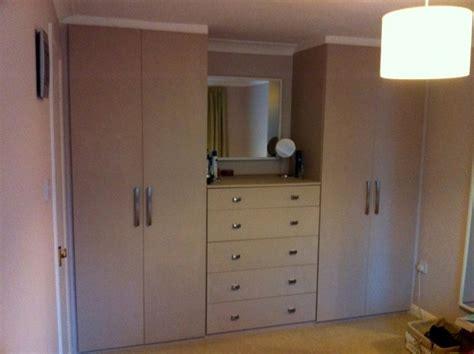 beige painted mdf bedroom wardrobe diy wardrobes