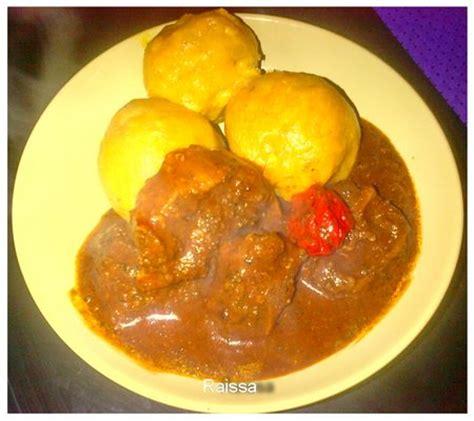 recette de cuisine cote d ivoire recette de foutou recettes africaines