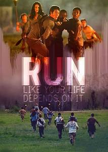 """""""Just follow me and run like your life depends on it ..."""