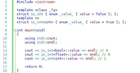 template metaprogramming 게임 개발 포에버 the modernest c 1 템플릿 메타프로그래밍 template metaprogramming