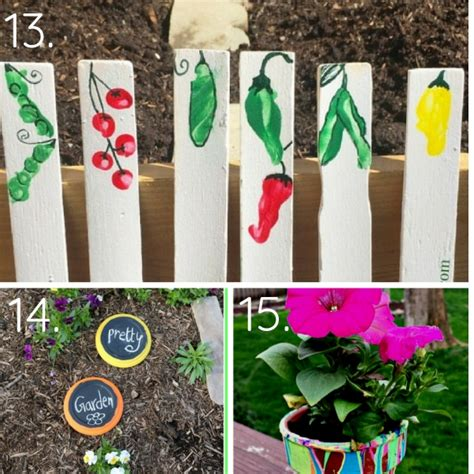 top garden crafts for kids will love making