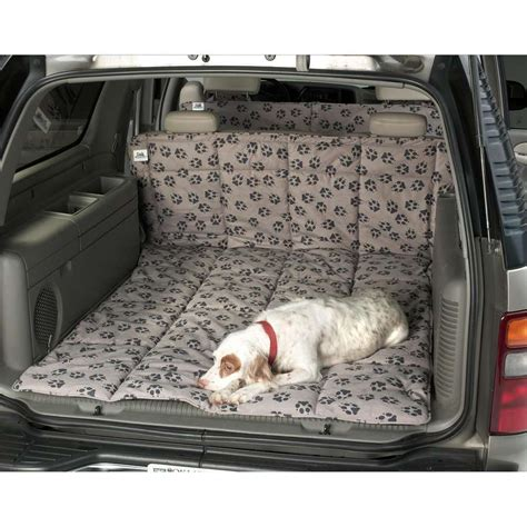 covers for dogs paw print cargo area liner covercraft