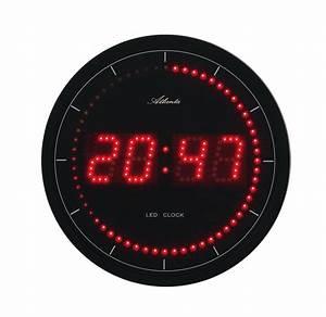 Horloge Murale Rouge : horloge led murale couleur rouge ~ Teatrodelosmanantiales.com Idées de Décoration