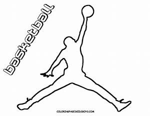 Basketball Coloring Pages Getcoloringpagescom