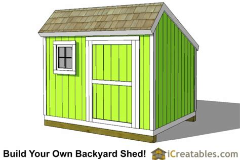 shed plans   build  shed icreatables