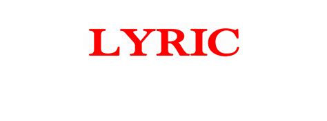 Lyric  Your Brand In Music