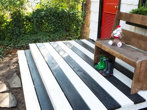 how to paint a deck diy