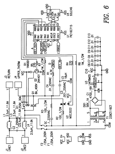 hatco heat l wiring diagram patent us6363218 liquid heater load patents