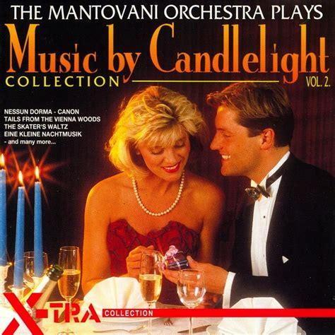 Mantovani Orchestra by By Candlelight Vol 2 The Mantovani Orchestra