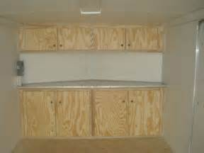 v nose enclosed trailer cabinets kit4en