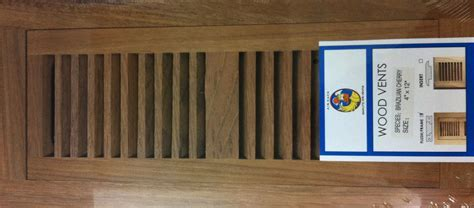 Wood Floor Vent Covers, Floor Registers, Floor Grills