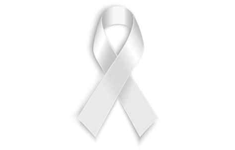 white ribbon bing images