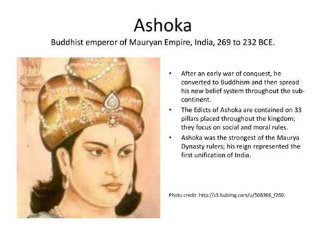 ashoka buddhist emperor  mauryan empire india
