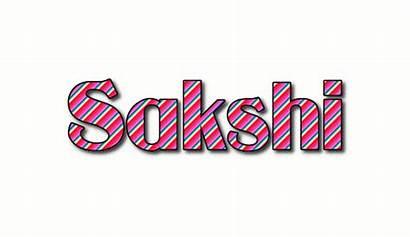 Sakshi Text Logos