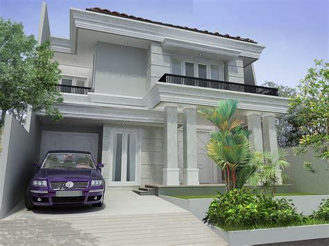 jasa arsitek desain bangun rumah klasik modern  lantai