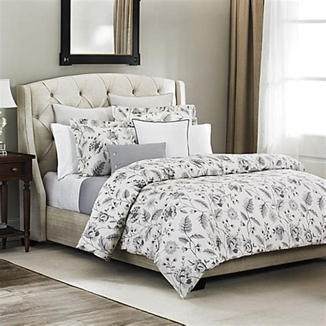 Bellora® Bianca Duvet Cover In Pebble  Bed Bath & Beyond