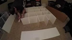 Ikea Kallax Anleitung : ikea kallax assembly 16 cubes expedit youtube ~ A.2002-acura-tl-radio.info Haus und Dekorationen