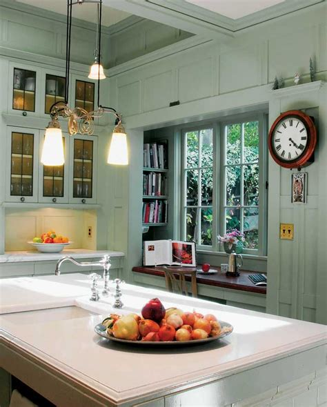 above sink lighting a kitchen for an edwardian renovation house