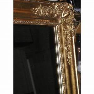 Miroir Doré Rectangulaire : miroir napol on iii rectangulaire dor sur moinat sa antiquit s d coration ~ Teatrodelosmanantiales.com Idées de Décoration