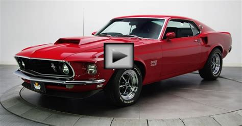 candy apple 1969 ford mustang boss 429 hot cars