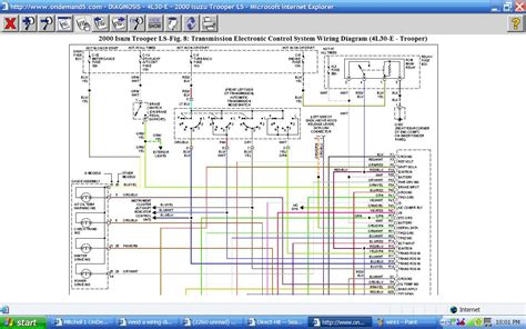 Wiring Diagram 2001 Isuzu Cabover Truck by Need A Wiring Diagram For A 2000 Isuzu Npr From The