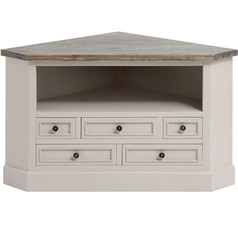 vintage farmhouse kitchen decor the studley collection corner tv unit from baytree interiors
