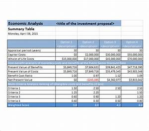 Cost analysis template 8 download free documents in pdf for Cost price analysis template